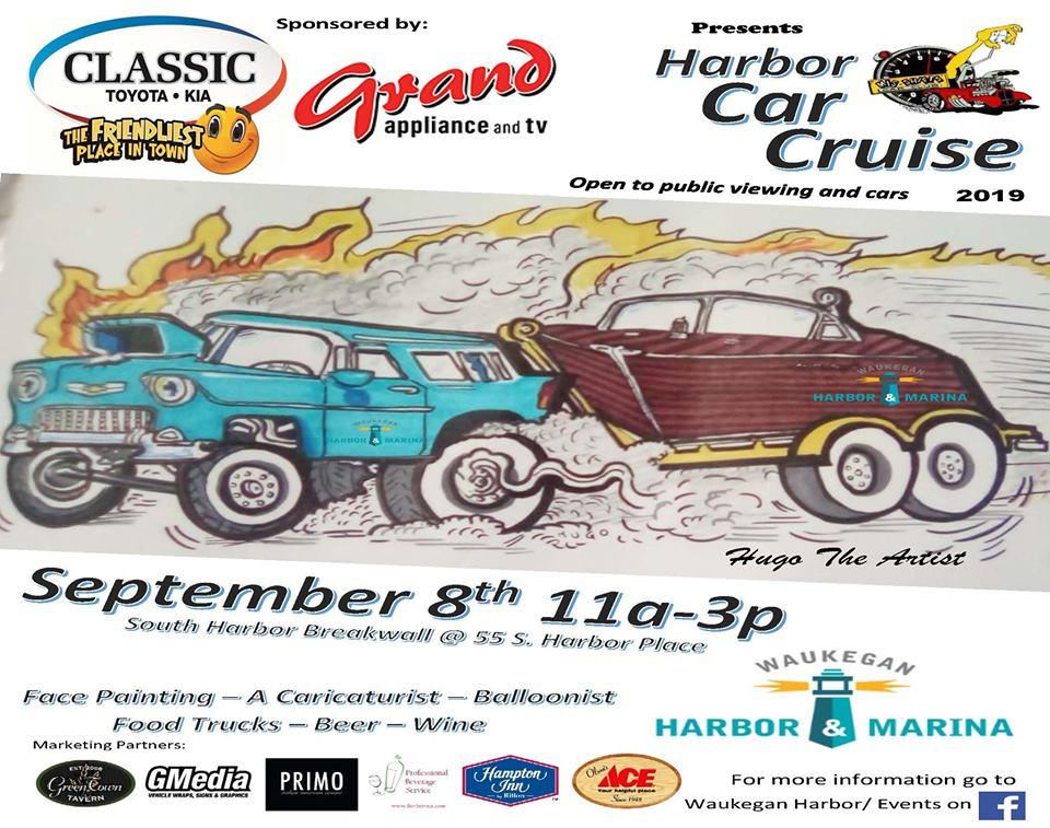 Classic Toyota Waukegan >> Harbor Car Cruise Waukegan Il Sept 8th